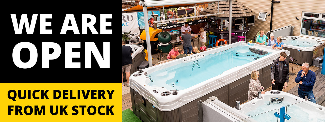 Award Leisure Hot Tub Showrooms Are Open